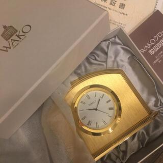 セイコー(SEIKO)の確認用 置き時計(置時計)
