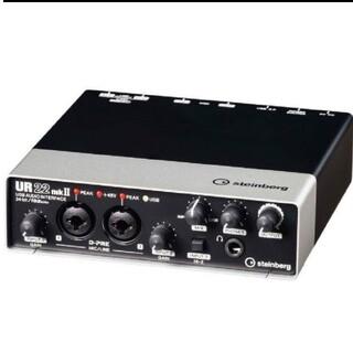 スタインバーグ STEINBERG UR22mkII オーディオインターフェース(オーディオインターフェイス)