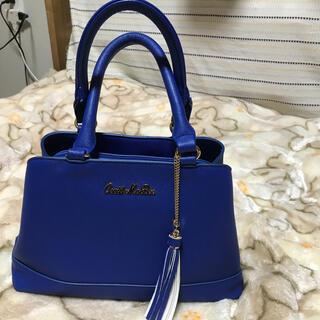 セシルマクビー(CECIL McBEE)のセシルマクビー 濃いブルー色 ハンドバッグ(ハンドバッグ)