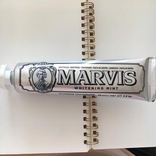 マービス(MARVIS)のマービス ホワイトミント 3個 歯磨き粉(歯磨き粉)