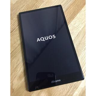 AQUOS - 値下げ❗️ 状態良❗️ 超軽量7インチタブレット AquosPad sh-05g