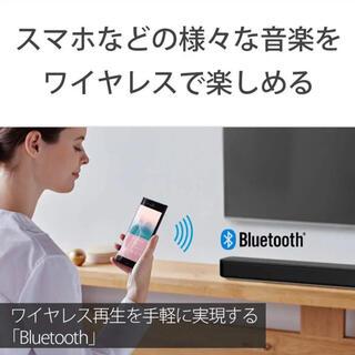 ソニー(SONY)のソニー サウンドバー HT-S100F 100W HDMI Bluetooth(スピーカー)