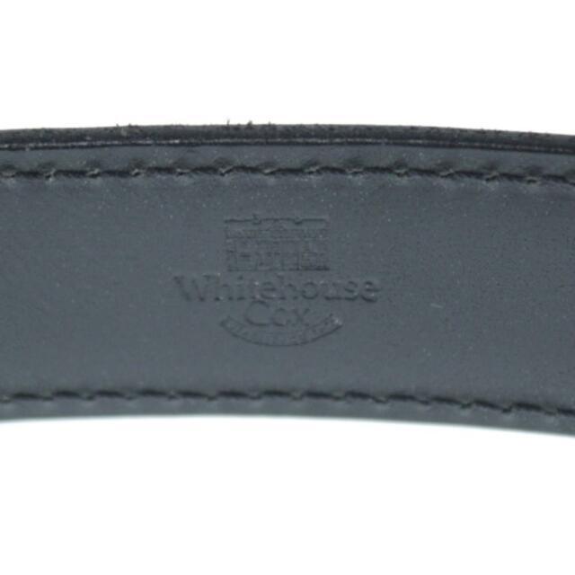 WHITEHOUSE COX(ホワイトハウスコックス)のWhitehouse Cox ベルト メンズ メンズのファッション小物(ベルト)の商品写真
