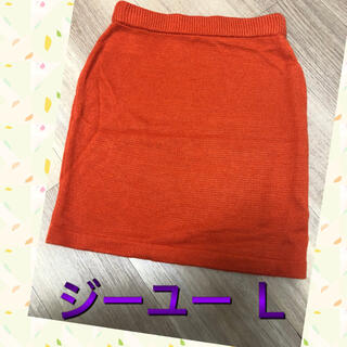 GU - ジーユー GU 膝丈 スカート L