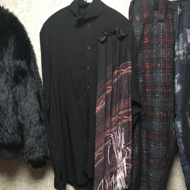 Yohji Yamamoto(ヨウジヤマモト)のyohjiyamamoto 20ss ワシ袋4 メンズのスーツ(セットアップ)の商品写真