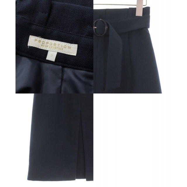 PROPORTION BODY DRESSING(プロポーションボディドレッシング)のPROPORTION BODY DRESSING ひざ丈スカート レディース レディースのスカート(ひざ丈スカート)の商品写真