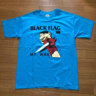 アンビル(Anvil)の90s BLACK  FLAG MY  WAR Tシャツ ブラックフラッグ(Tシャツ/カットソー(半袖/袖なし))