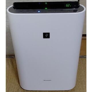 SHARP - 美品 フィルター 新品交換済み SHARP 加湿空気清浄機 KC-E50-W 白
