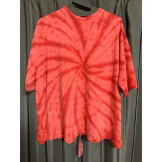 PEACEMINUSONE - peaceminusone 赤タイダイTシャツ