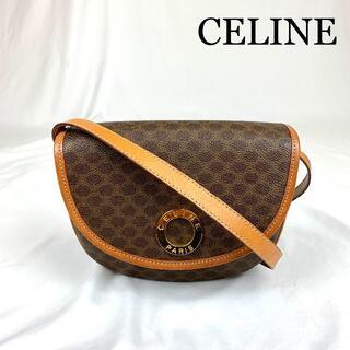 celine - CELINE セリーヌ サークル金具 マカダム ショルダーバッグ
