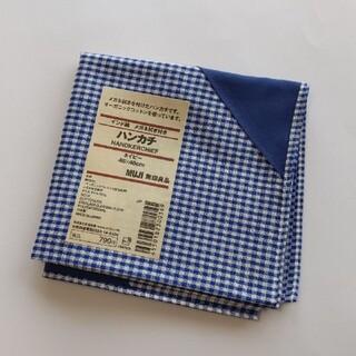 ムジルシリョウヒン(MUJI (無印良品))の無印良品 ハンカチ メガネ拭き付き(ハンカチ/ポケットチーフ)