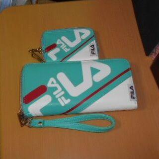 フィラ(FILA)の新品♡フィラアレンジロゴ長財布&スマートキーケースセット(長財布)