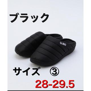 SUBU スブ サンダル 28cm〜29.5cm サイズ3