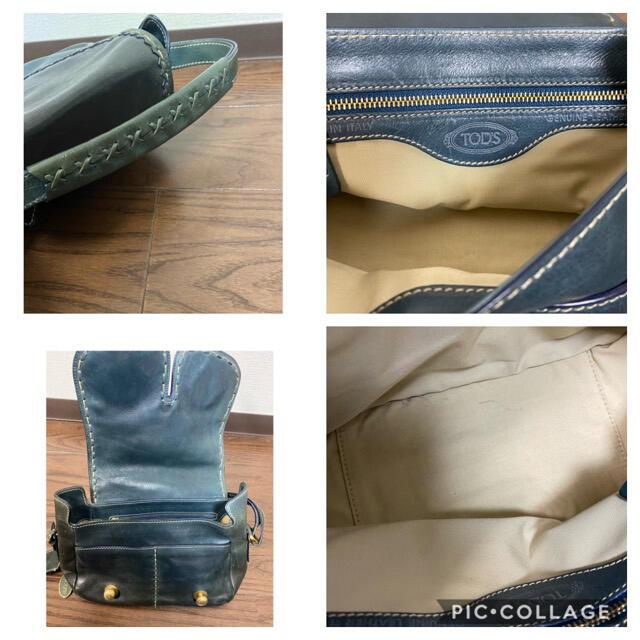 TOD'S(トッズ)のトッズ ショルダーハンドバッグ イタリア製 レディースのバッグ(ショルダーバッグ)の商品写真