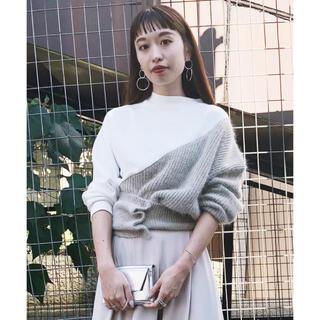 アメリヴィンテージ(Ameri VINTAGE)のameri vintage unusual knit sweat ニット(ニット/セーター)