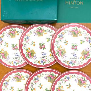 ミントン(MINTON)のミントンコースター6枚セット(テーブル用品)