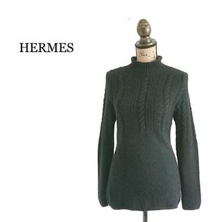 Hermes - 上質 HERMES エルメス セーター レディース ブラック