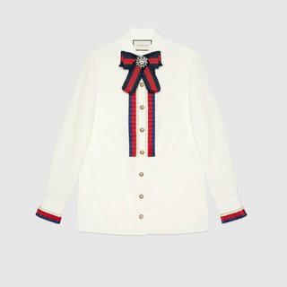 Gucci - GUCCI♡ リボンシャツ