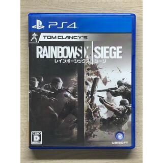 PlayStation4 - レインボーシックスシージ PS4