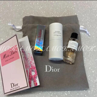 Dior - Dior New ジャスミンデザンジュ 7.5ml ローズ&ローズ 巾着付き