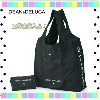 ディーンアンドデルーカ(DEAN & DELUCA)のDEAN&DELUCA ディーンアンドデルーカ 黒  ショッピングバッグ(エコバッグ)