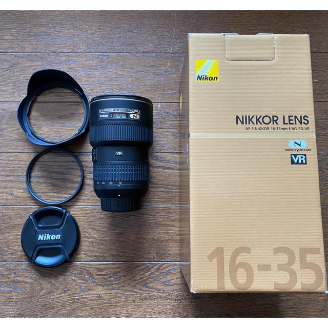 Nikon(ニコン)のAF-S NIKKOR 16-35mm f/4G ED VR スマホ/家電/カメラのカメラ(レンズ(ズーム))の商品写真