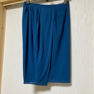 ヴィヴィアンタム(VIVIENNE TAM)のVIVIENNE TAM  オシャレなラップスカート(ひざ丈スカート)
