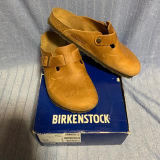 BIRKENSTOCK - BIRKENSTOCK BOSTON アンティークブラウン 41 レギュラー