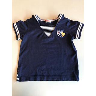 mikihouse - ミキハウス セーラー半袖Tシャツ 90