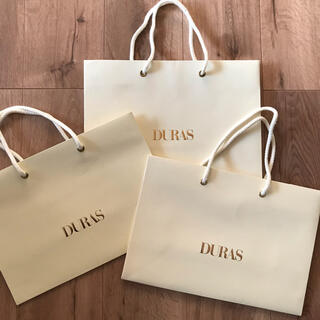 デュラス(DURAS)のDURAS  デュラス 紙袋 ショップ袋 ショッパー(ショップ袋)
