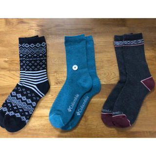 コロンビア(Columbia)の新品コロンビア Columbia メンズソックス 靴下3足セット201(ソックス)