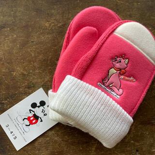 ディズニー(Disney)のマリー アクリル手袋 3〜4才 Baby(手袋)