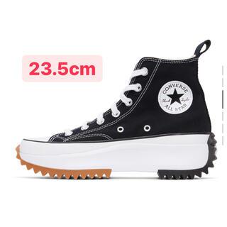 コンバース(CONVERSE)のConverse ブラック Run Star Hike 23.5cm(スニーカー)