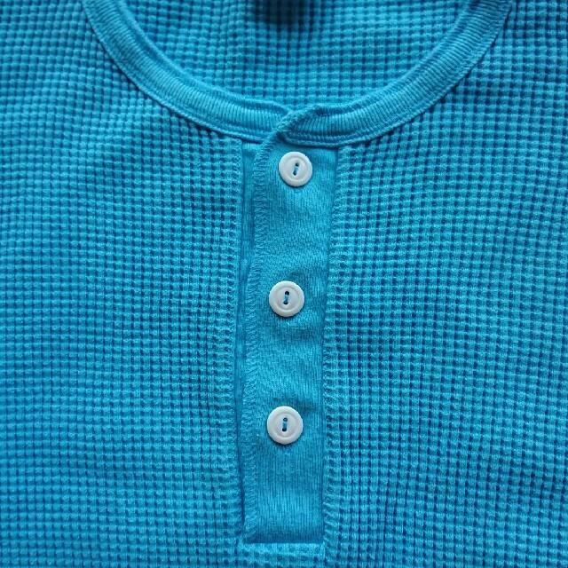 Ron Herman(ロンハーマン)のRon Herman healthknit別注ヘンリーネックサーマル メンズのトップス(Tシャツ/カットソー(七分/長袖))の商品写真