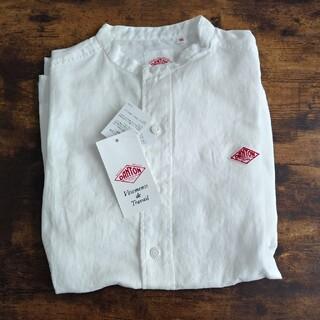 DANTON - Dantonリネンスタンドカラーシャツ