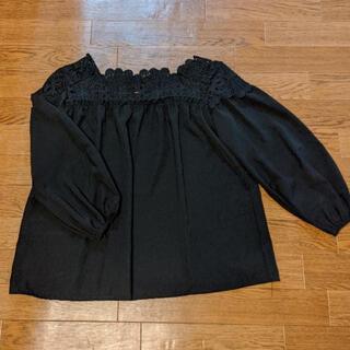 ZARA - 襟刺繍 ブラウス