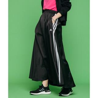 adidas - Adidasアディダス☆黒ロングスカート
