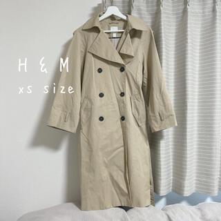 エイチアンドエム(H&M)のH&M トレンチコート xs(トレンチコート)