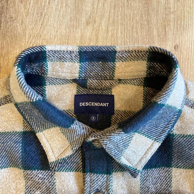 W)taps(ダブルタップス)のディセンダント チェックフリースシャツ メンズのトップス(シャツ)の商品写真