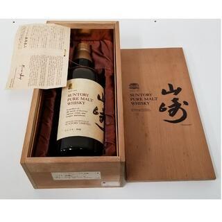 サントリー - サントリー ピュアモルトウイスキー山崎 ウイスキー特級