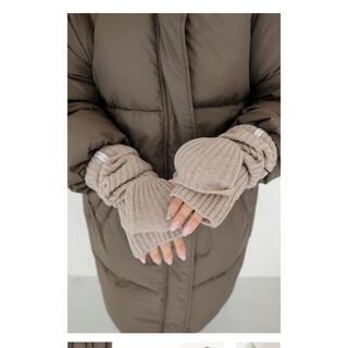 ALEXIA STAM - Half Finger Warm Hand Mittens  アリシアスタン