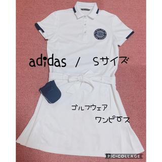 adidas - adidas ゴルフウェア ワンピース S