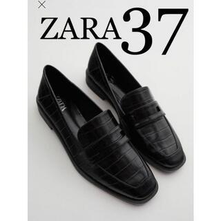 ZARA - 4 ZARA ザラ 新品 アニマル柄ローファー 37