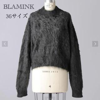 Drawer - BLAMINKブラミンク 希少カシミヤファーニット 7Gクルーニット