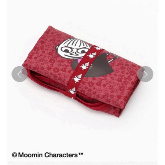AfternoonTea(アフタヌーンティー)の完売品 Moomin×Afternoon Tea/ショッピングバッグ レッド レディースのバッグ(エコバッグ)の商品写真
