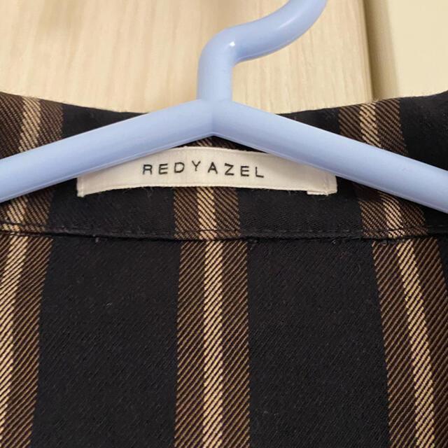 REDYAZEL(レディアゼル)のREDYAZEL ミニストライプワンピース レディースのワンピース(ミニワンピース)の商品写真