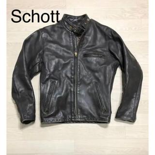 ショット(schott)のショット シングルライダース(ライダースジャケット)