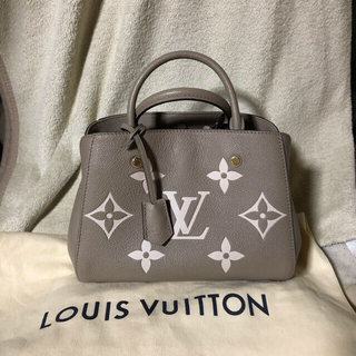 LOUIS VUITTON - 完売品 ルイヴィトン モンテーニュBB 新品未使用