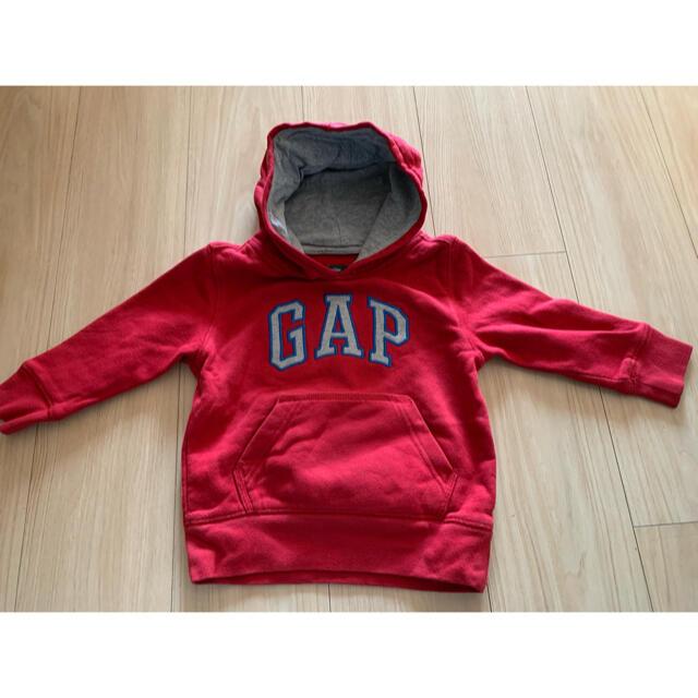 GAP Kids(ギャップキッズ)のGAP パーカー キッズ/ベビー/マタニティのキッズ服男の子用(90cm~)(ジャケット/上着)の商品写真