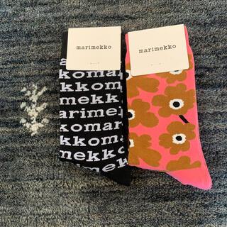 marimekko - 週末SALE❣️新品マリメッコ靴下 2点セット